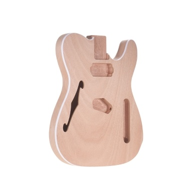 Muslady TL-F  Unfinished Electric Guitar Body Blank Guitar Body Barrel