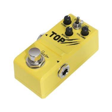 Rowin Booster Effektpedal Gitarrenpedal True Bypass