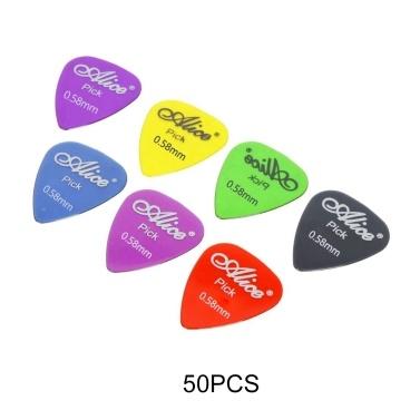 Guitar Picks Set Guitars Accessories Musical Instrument Tool 0.58-1.5mm Thickness Guitar Pick