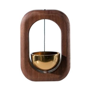 Saugwindspiel Türklingel Dekoration Kühlschrank Tür Schrank Holz Windspiel Glocken für Hausgarten Windspiel Geschenk