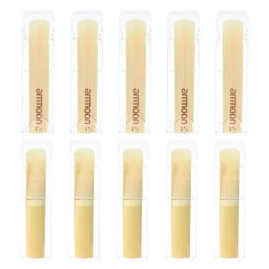 ammoon High Grade Bb Clarinet Bamboo Reeds