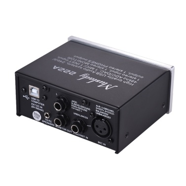 Muslady 222a 2 Channel Usb Audio System Interface External
