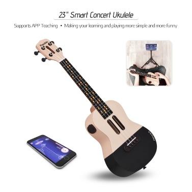 "46% OFF Xiaomi Populele U1 23"" Smart Concert Ukulele Uke Kit,limited offer $108.29"