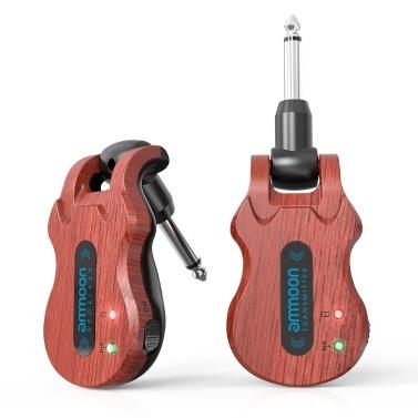 ammoon 5.8GHz Wireless Guitar System (transmitter + receiver)