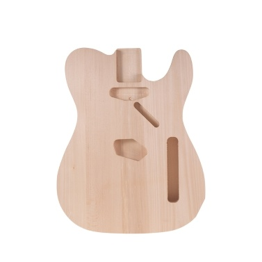 Muslady TL-01T DIY Electric Guitar Body Basswood Material Unfinished Guitar Bodies Custom Guitar Barrel Parts
