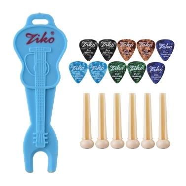 ZIKO DG-168 17pcs Guitar Accessories Kit