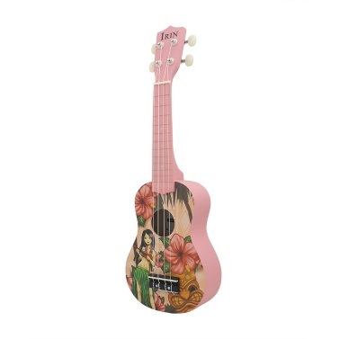 IRIN 21 Inch Acoustic Soprano Ukulele Ukelele Uke Basswood Material