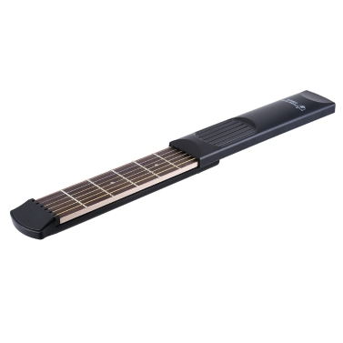 Portable Pocket Acoustic Guitar Practice Tool Gadget 6 String 6 Fret Model Beginner