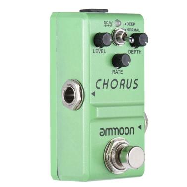 ammoon Nano Series Gitarren-Effekt-Pedal-Analog Chorus True Bypass Gehäuse aus Aluminiumlegierung