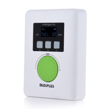 MIDIPLUS miniEngine Pro External USB Sound Module Built-in Rechargeable Lithium Battery 128 MIDI Sounds 64 Tones