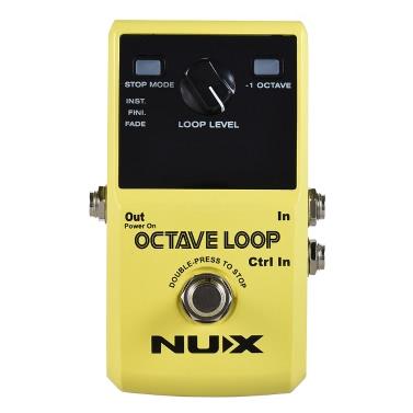 NUX OCTAVE LOOP Guitar Loop Pedal