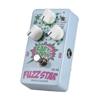 BIYANG FZ-10 BABY BOOM Series 3 Modes Fuzz Guitar Effect Pedal True Bypass Full Metal Shell