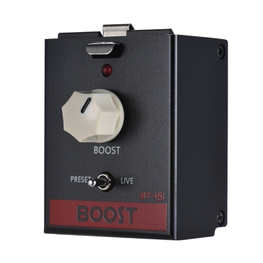 BIYANG LiveMaster Serie BT-151 Clean Boost Gitarreneffektpedal-Modul True Bypass