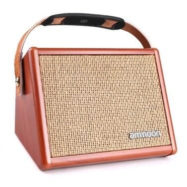 ammoon AC-15 15W Portable Acoustic Guitar Amplifier Amp BT Speaker