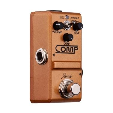 Rowin Compressor Gitarrenpedal Effektpedal True Bypass
