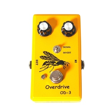 Overdrive Guitar Effect Pedal High Gain Electric Guitar Bass String Instrument