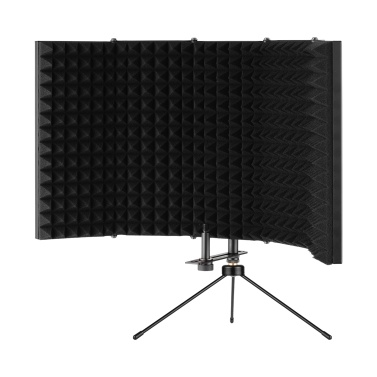 ammoon K501 Microphone Isolation Shield Compact Foldable Tabletop Isolation Shield