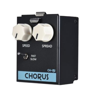 BIYANG LiveMaster Series CH-151 Analog Chorus Guitar Effect Pedal Module True Bypass