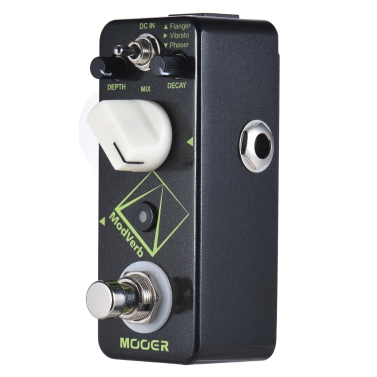 MOOER ModVerb Modulation Reverb Gitarre Effektpedal True Bypass Full Metal Shell
