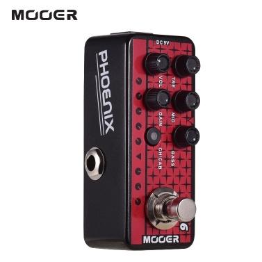 Mooer MICRO PREAMP Serie 016 PHOENIX Digitaler Vorverstärker