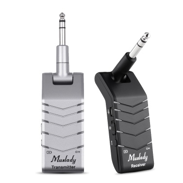 Muslady 2.4G Guitar Wireless System(Transmitter + Receiver) Max. 30M Effective Distance
