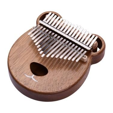 ammoon 17 Key Kalimba Portable C Tone Thumb Piano