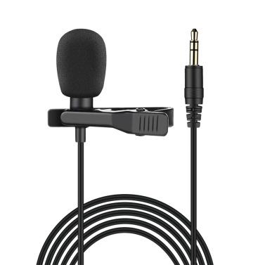 TAKSTAR TCM-400 Clip-on Lavalier Microphone Omnidirectional Lapel Mic