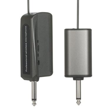UHF Headset Wireless Microphone Transmitter & Receiver Music Instrument Wireless System 6.35mm Standard Audio Plug