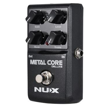 nux electric guitar distortion effect pedal for sale us black tomtop. Black Bedroom Furniture Sets. Home Design Ideas