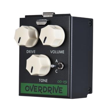 BIYANG LiveMaster Series OD-151 3 Modes Overdrive Guitar Effect Pedal Module True Bypass