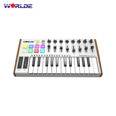 $6.16 OFF WORLDE TUNA MIDI Keyboard Controller,free shipping $70.83(Code:MI3535)