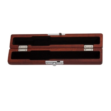 Flute Head Wooden Case Box Holder Maple Solid Wood