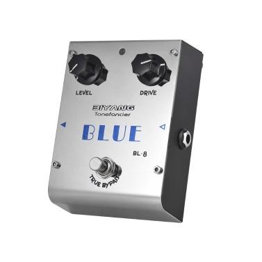 BIYANG BL-8 Tonefacier Serie Blues Overdrive Gitarreneffektpedal