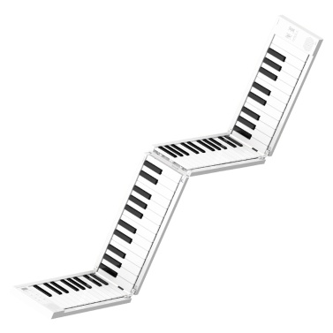 Faltbares Klavier Digitales Klavier Tragbares elektronisches Keyboard-Klavier für Klavierstudenten-Musikinstrument