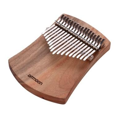 ammoon 17-Key Thumb Piano Kalimba Camphorwood C Tone