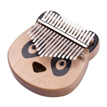 ammoon 17 Keys Kalimba Portable C Tone Thumb Piano
