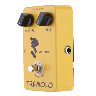 ammoon AP-04 Tremolo Guitar Effect Pedal True Bypass