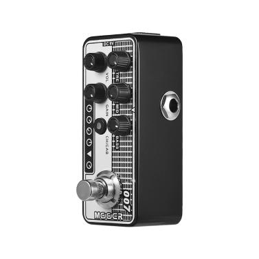 MOOER MICRO PREAMP Serie 007 Regal Ton Vintage Tone Digital Preamp Vorverstärker Gitarre Effektpedal True Bypass