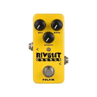 NUX NCH-2 RIVULET Chorus Gitarren Effektpedal gepuffert / True Bypass unterstützt USB Firmware Upgrade