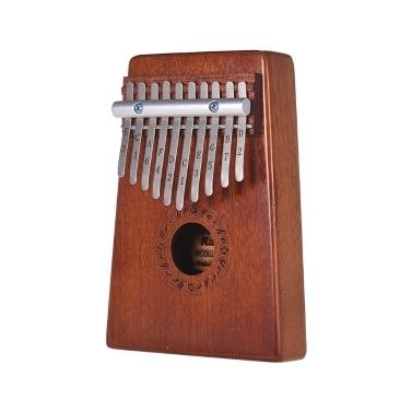 GECKO K10S Portable 10-Tasten-Daumen Klavier