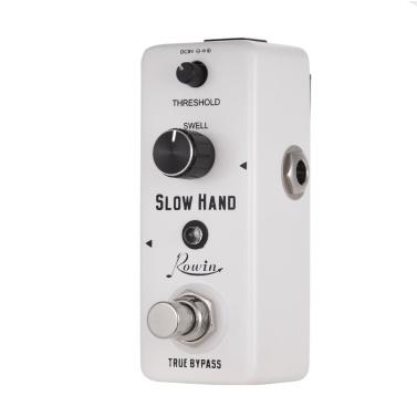 Rowin SLOW HAND Digital Slow Gear Guitar Effect Pedal Zinc Alloy Shell True Bypass