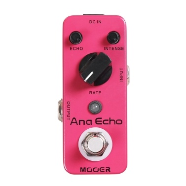 Mooer Ana Echo Electric Guitar Analog Delay Effect Pedal True Bypass