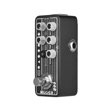 MOOER MICRO PREAMP Serie 008 Cali-MK 3 Kalifornischer Session Combo Digital Preamp Vorverstärker Gitarreneffektpedal True Bypass