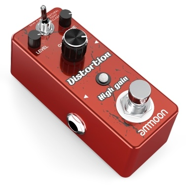 ammoon High Gain Distortion Gitarreneffektpedal