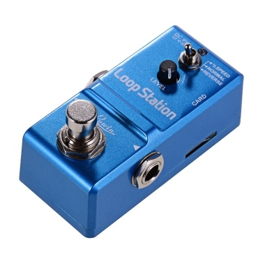 Rowin Loop Station Mini Guitar Looper Effect Pedal