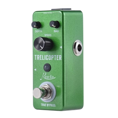 Mini Tremolo Guitar Effect Pedal True Bypass Aluminum Alloy Body