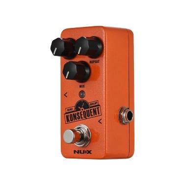 NUX NDD-2 KONSEQUENT Digitales Delay Gitarren Effektpedal