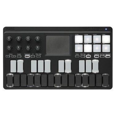 39% OFF KORG nanoKEY Studio Portable MIDI Keyboard Controller,limited offer $129.99