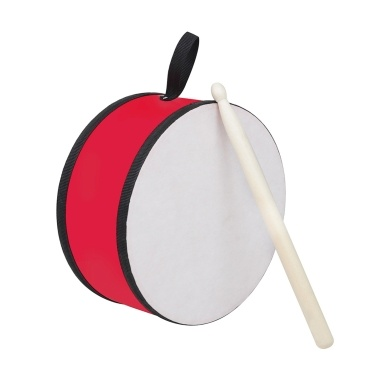 Muslady Hand Drums 8-inch Portable Drum Kids Toy Instrument with Drum Stick