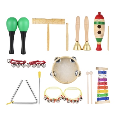 Musical Instruments Percussion Toy Rhythm Band Set
